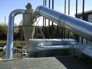 NORDFAB DUCTWORK WITH CYCLONE